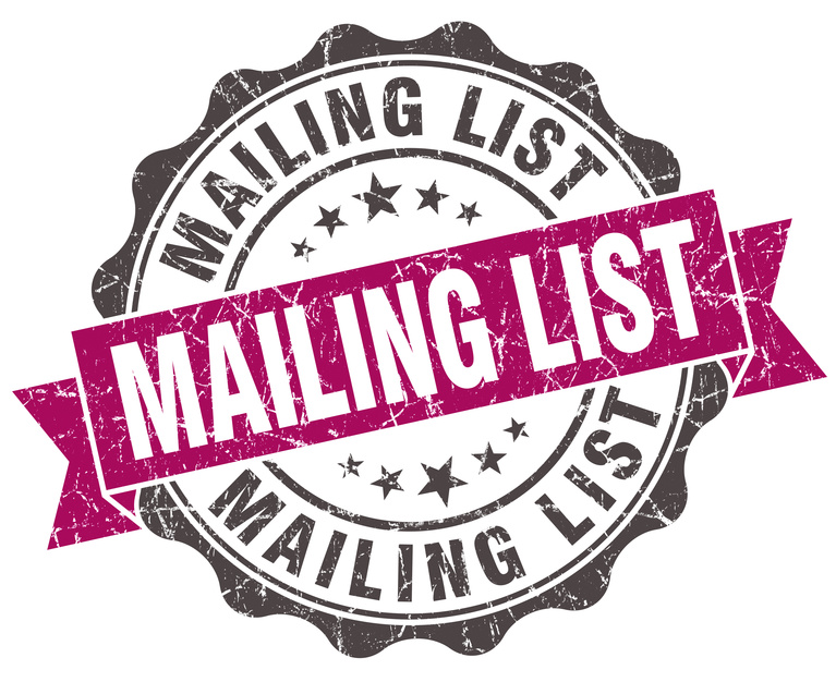 Mailing list stamp Crest Consulting